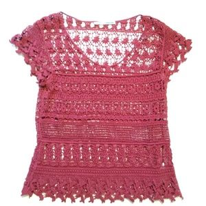 Maurices Crocheted Blouse